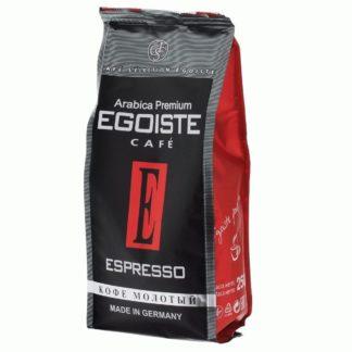 Молотый кофе Egoiste Espresso (Эгоист Еспрессо), 250г
