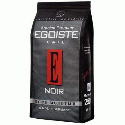 Молотый кофе Egoiste Noir Arabica Premium, 250г