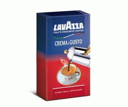 Lavazza Crema Gusto, Лавацца Крема Густо, Молотый кофе Lavazza Crema Gusto, Молотый кофе Крема Густо